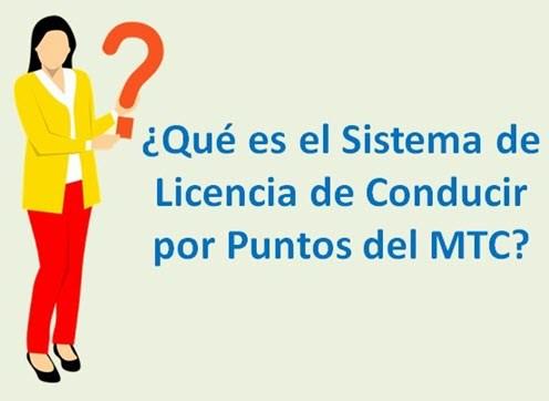 Que es el Sistema de Licencia de Conducir por Puntos
